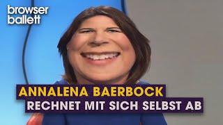 Annalena Baerbock rechnet mit sich selbst ab