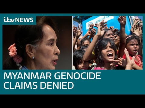 Aung San Suu Kyi denies Myanmar genocide claims at top UN court | ITV News
