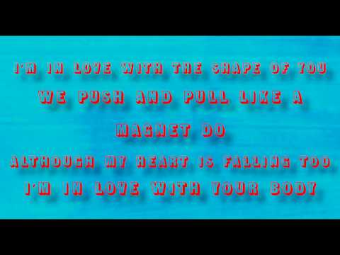 Ed Sheeran  Shape of You Stormzy Remix Lyrics Music
