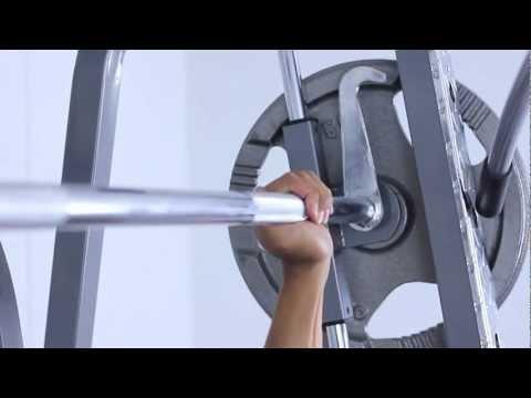 Iron Power Smith Machine w/FID Deluxe Utility Bench