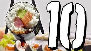 10 faktów o SUSHI [TOPOWA DYCHA]
