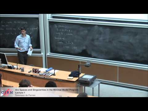 Tommaso de Fernex:  Arc spaces and singularities in the minimal model program - Lecture 1