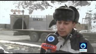 Iran made tunnel connects Tajikistan North to South پيوستن شمال به جنوب تاجيكستان با تونل ساخت ايران