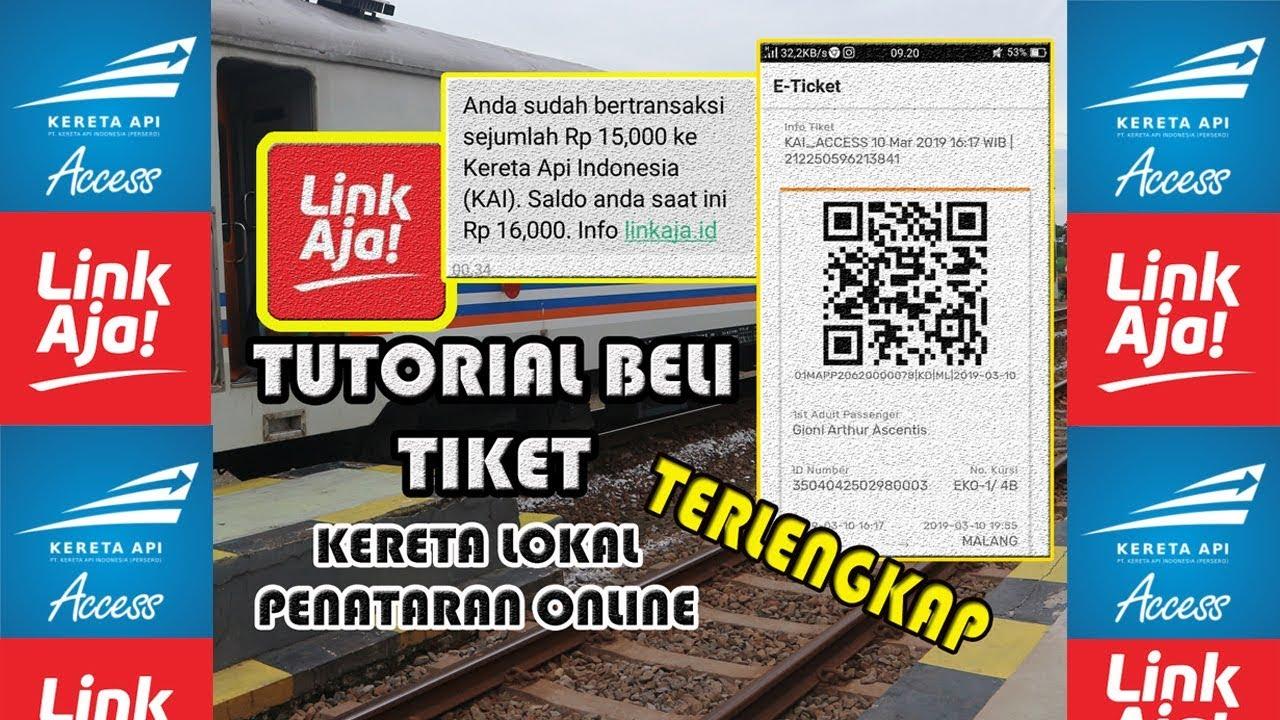 Tutorial Beli Tiket Kereta Lokal Penataran Dhoho Online Terlengkap