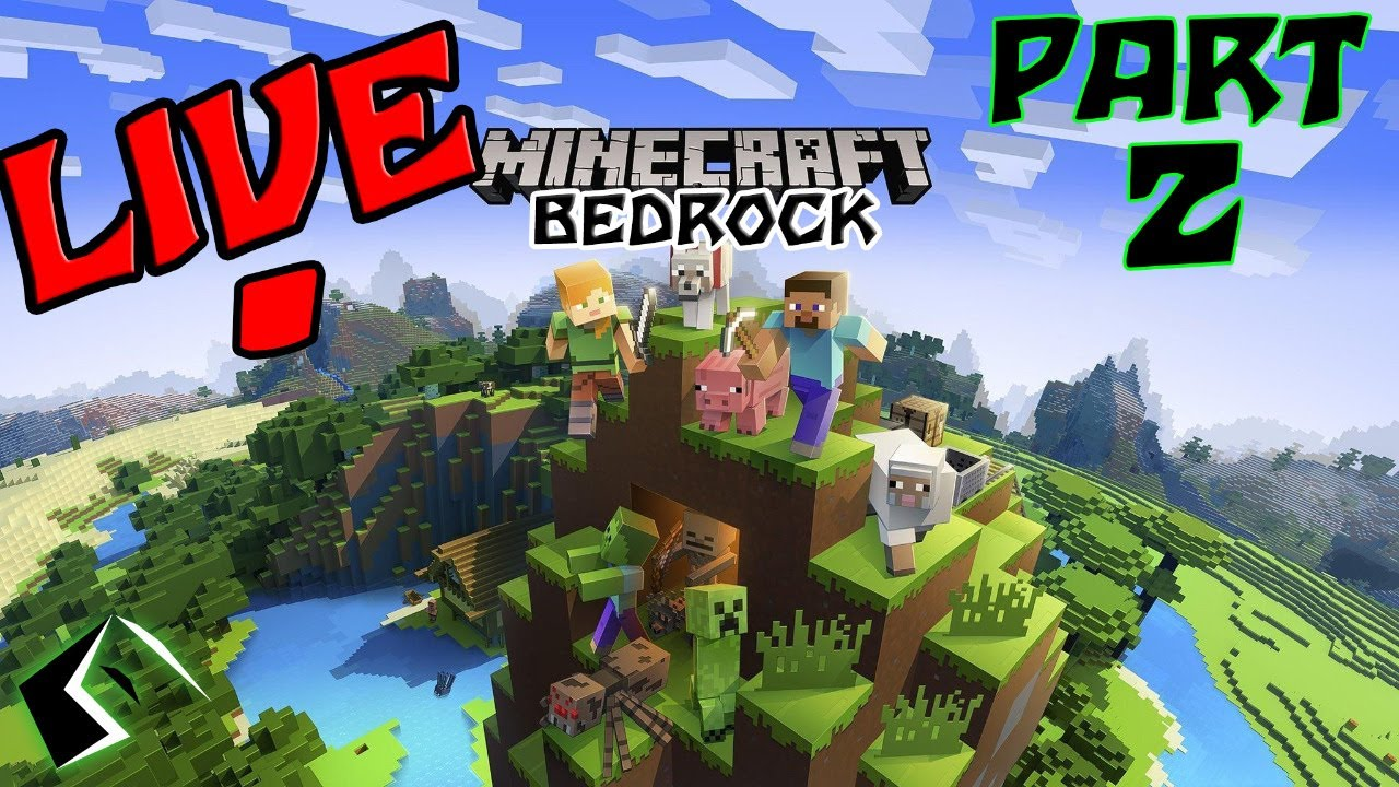 Let S Build Some Stuff In Minecraft Live Smp Part 2 W Trosmeister Youtube