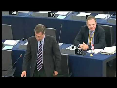 Van Rompuy leads EU's go-ahead to military intervention in Libya - Nigel Farage