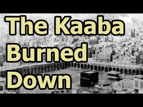 On This Day - 31 October 683 - The Kaaba Burned Down