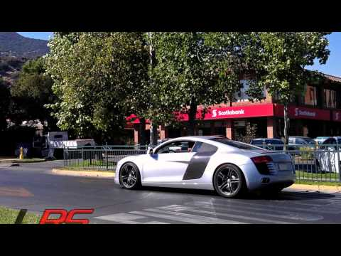 supercars in santiago, chile. july 2013 (pagani's, enzo, carrera gt, one 77, lambo's, and more)