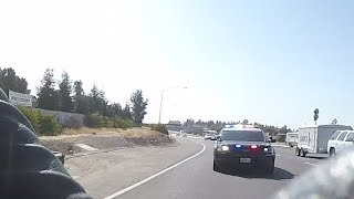 Fresno Police let me off with a warning!