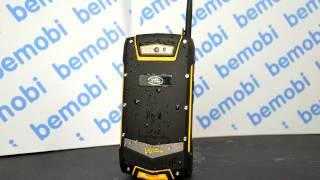 Видео обзор: защищённый телефон Land Rover V1 - флагман среди защищённых смартфонов!
