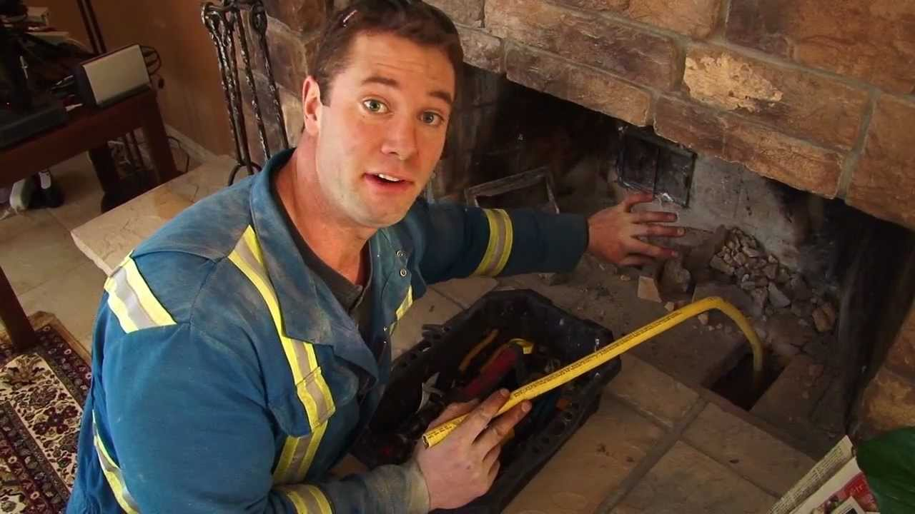 Running Gas Line For Fireplace. Fireplace Install Gasline ...