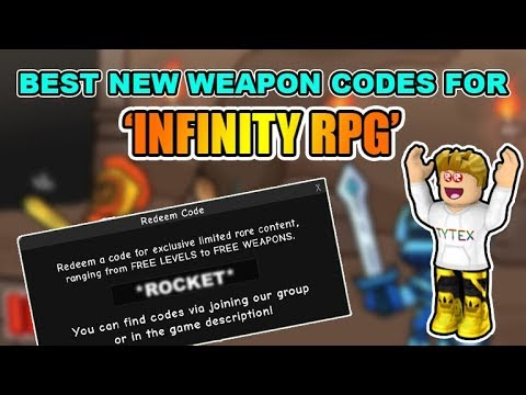 [CODES]🔫Infinity RPG New Codes | Best Weapon Codes In Infinity RPG | Roblox