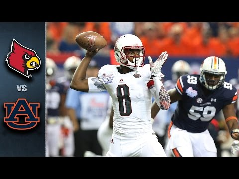 Louisville vs Auburn   2015 ACC Football Highlights