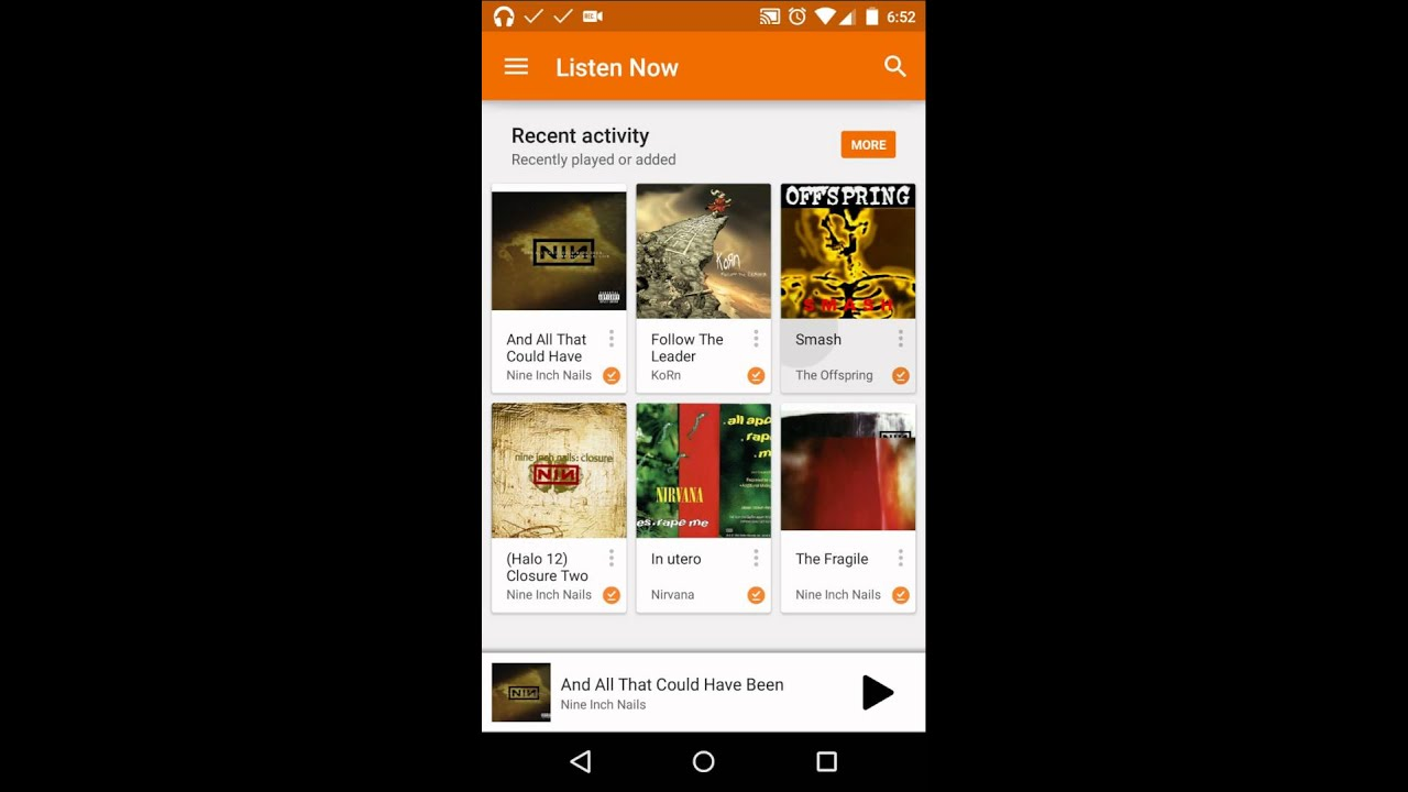 How to hide/show Android Toolbar when scrolling (Google Play Music's