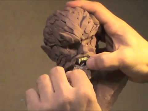 SCULPTING A WEREWOLF BUST with  TONY CIPRIANO