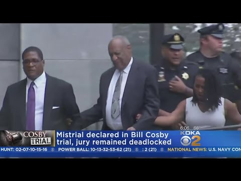 Jury Deadlocks In Cosby Trial; Mistrial Declared