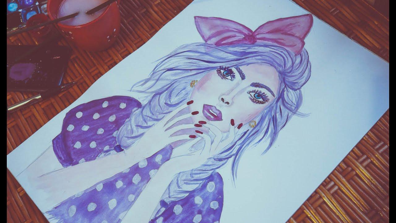 фото красками рисунки