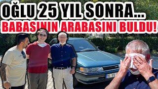 Oğlu 25 Yıl Sonra Babasının Arabasını Buldu, Toplattı ve Hediye Etti | İşte O Anlar!
