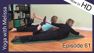 Yoga with Melissa 61: Yoga for Your Organ Body: Spleen and Stomach Meridian in HD
