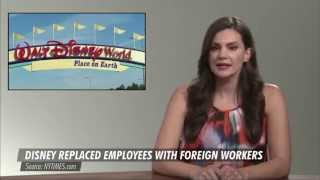 Disney replaces 250 Americans with immigrants on H1B visas Free HD Video