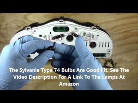 Instrument Cluster Removal, Replace, Install And Service Overview 2003 Hyundai Santa Fe