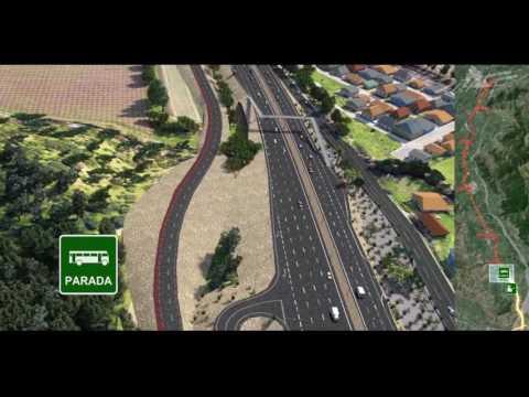 Autopista 3D Santa Cruz - San fernando CHILE - Draff Digital Studio