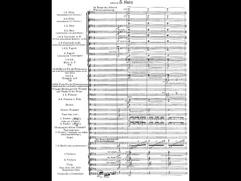 "Mahler's 2nd Symphony ""Resurrection"" (Audio + Score)"