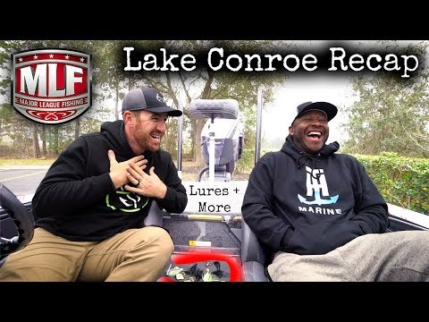 Major League Fishing Pro Tour Lake Conroe Recap with MDJ