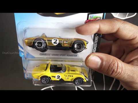 Hot Wheels  Super Treasure Hunt  - Corvette Grand Sport Roadster - FXG-D