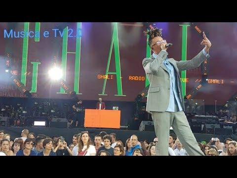 #RILIVE GHALI Cara Italia - Radio Italia Live 2018 (Live)