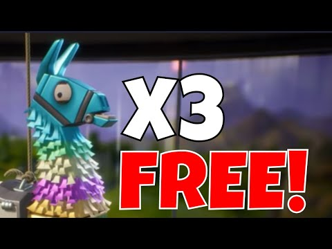 free-birthday-llamas-for-everyone!-birthday-llama-opening!-fortnite-save-the-world