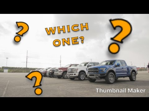 Best New Pickup Truck Review 2018
