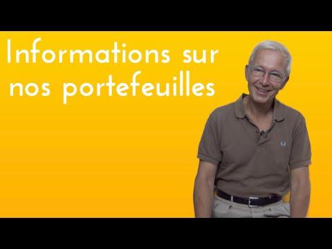 Informations sur les portefeuilles hiboo