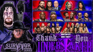 WWE SURVIVOR SERIES 2020 Review: Raw vs SmackDown, Roman Reigns vs Drew McIntyre, #ThankYouTaker
