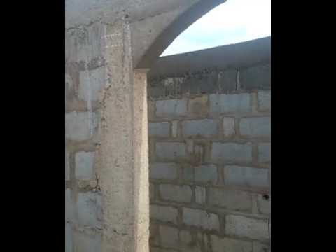 BUILDING HOUSE IN GHANA - WORK ON LENTLE CONTINUES