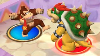 Donkey Kong Punches Bowser in Mario Party 5 | Rare Oddities #09