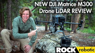 Drone LiDAR Review | DJI M300 | R1A | ROCK robotic