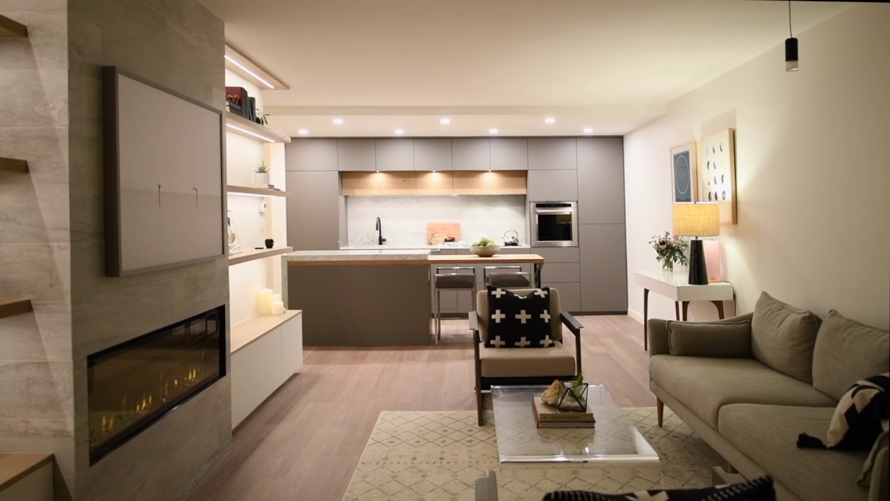 Designer 1 Bedroom Condo in West Vancouver by Stu Bell ...