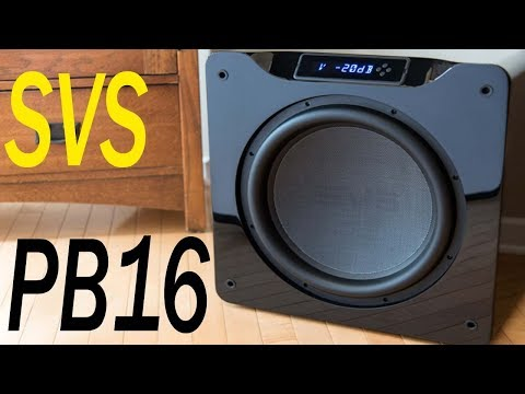 SVS PB16 Ultra 1500 Watt 16 Inch Ported Cabinet Subwoofer Best Review