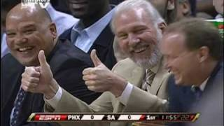 Gregg Popovich Plays Joke on Shaq