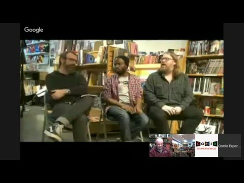 December 2015 GN-of-the-Month Club meeting for HARROW COUNTY with Cullen Bunn and Tyler Crook