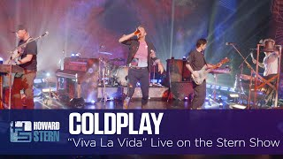 "Coldplay ""Viva La Vida"" Live on the Stern Show"