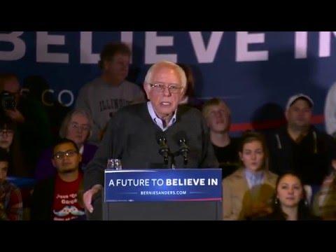 Clinton Attacks Show That They're Afraid   Bernie Sanders