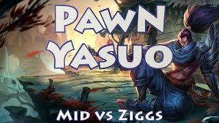 Samsung Ozone PawN, Yasuo vs Ziggs