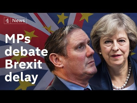 Brexit debate LIVE: MPs to vote on delaying Brexit|#BREXIT
