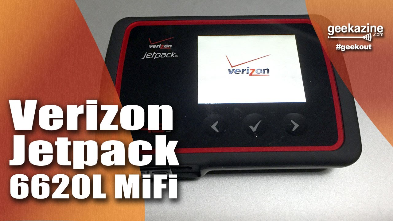 Verizon Jetpack 6620L MiFi Review Video