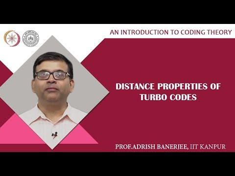 Distance Properties Of Turbo Codes