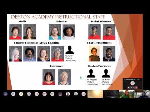 Disston Academy 2019 2020 Semester 2 Virtual Award Ceremony 1