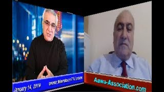 Ex-Mojahedin * Ghorbanali  Hosseinnejad * 14. Januar 2019 * AAWA-Association.com * MardomTV.com