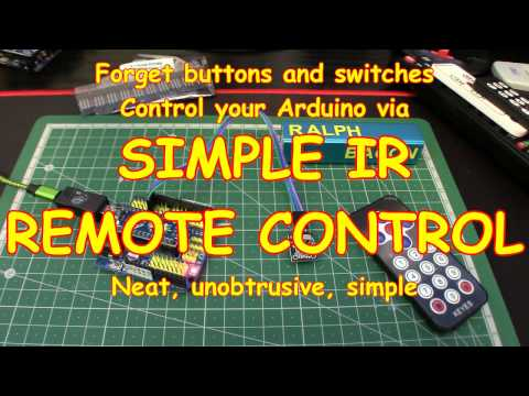 #77 Forget buttons - use Infra Red! VS1838B first look